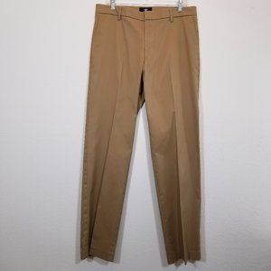 DOCKERS Mens Brown Khaki Pants 34x34